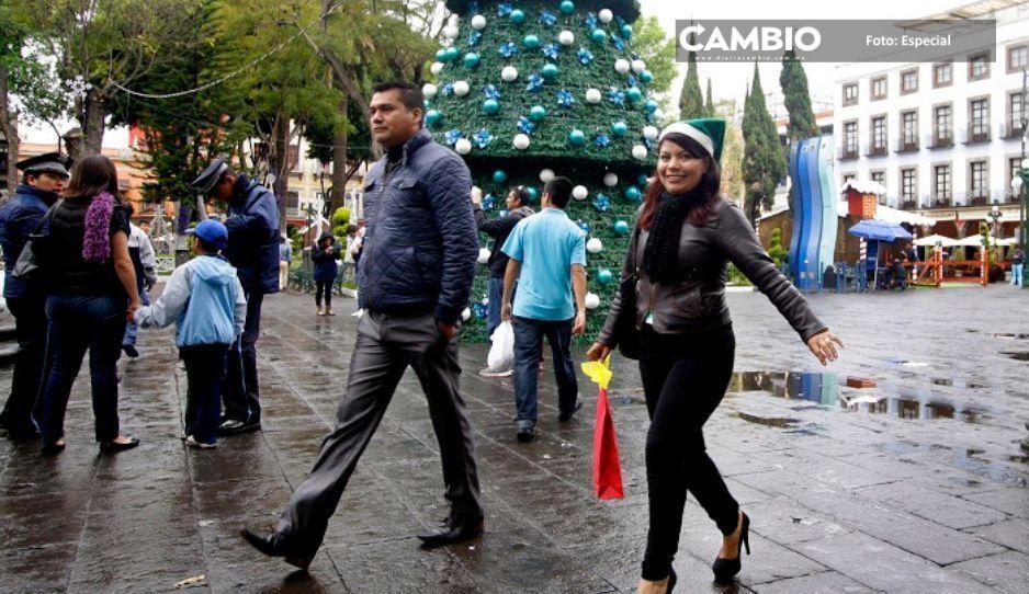 Prevén heladas en Puebla por quinta tormenta invernal