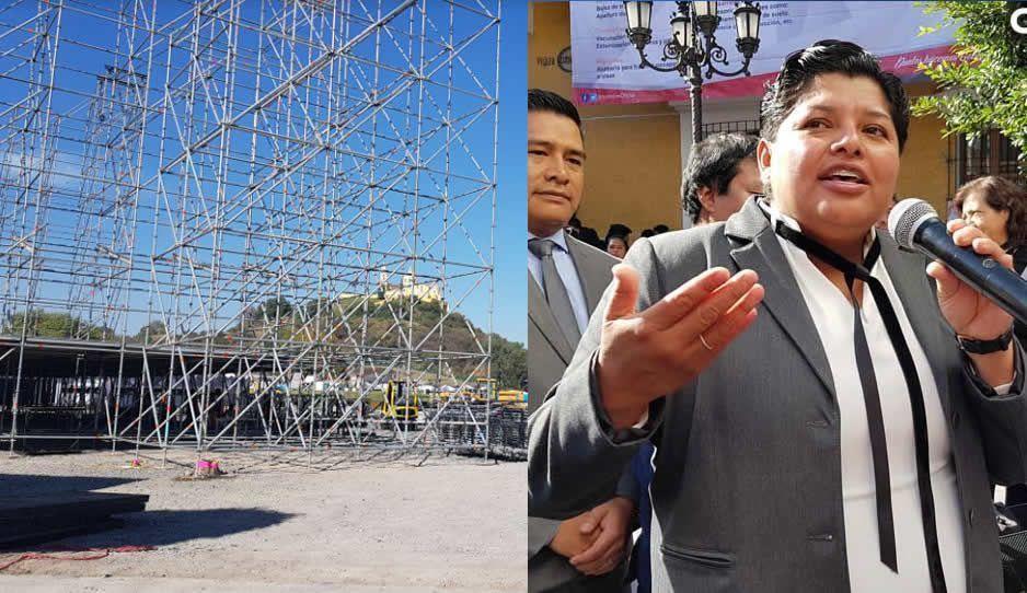 Tras ecocidio, la edil de San Andrés asegura que ya no habrá más Catrina Fest