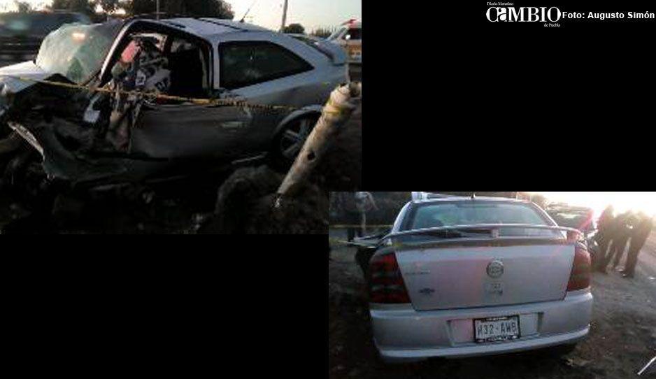 Fallecen dos personas en accidente sobre la Vía Xalapa en Acatzingo