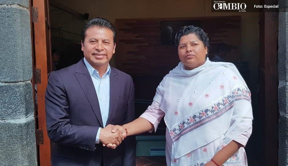Asegura Pérez Popoca reducción de salarios a funcionarios de primer nivel en Cholula