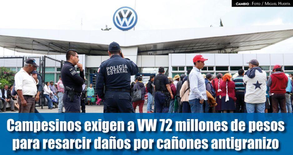 VIDEO: Ejidatarios cierran autopista México-Puebla y exigen a VW indemnización de 72 millones