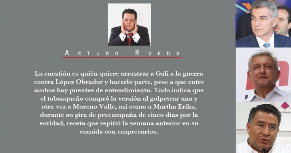 Acusan a Puebla de campaña anti AMLO