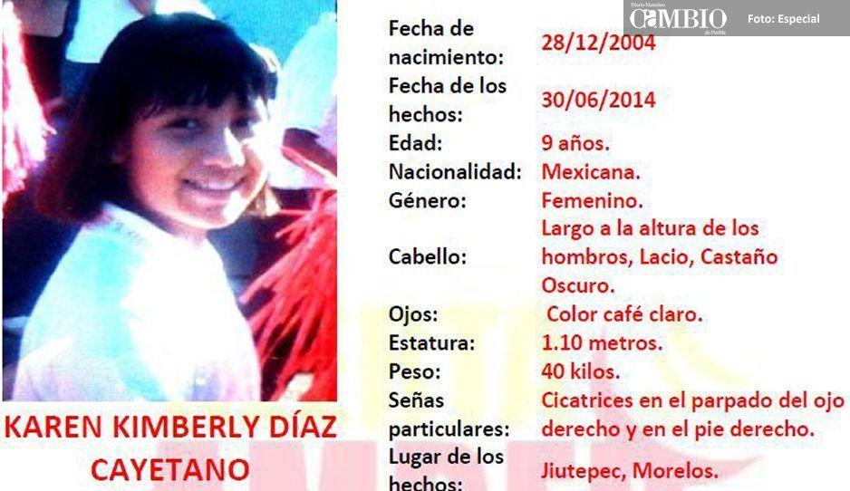 Encuentran a Karen Kimberly Diaz Cayetano en hospital de Huauchinango desaparecida en 2014