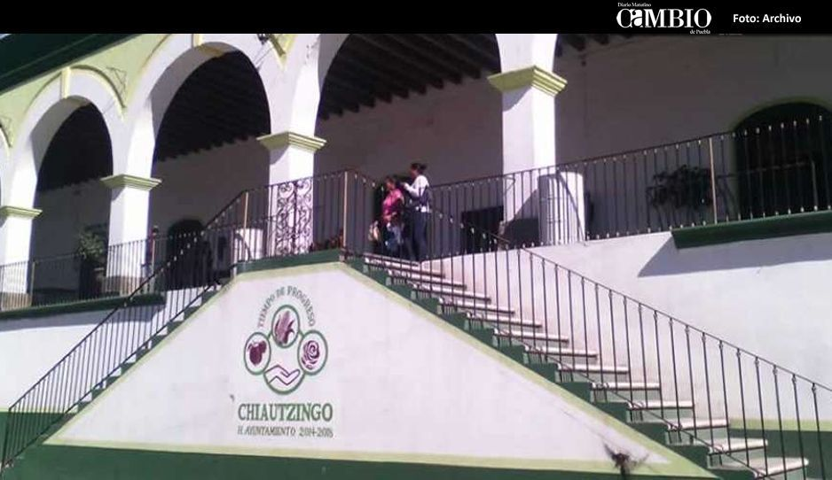 Asalto a mano armada en transporte público de Chiautzingo