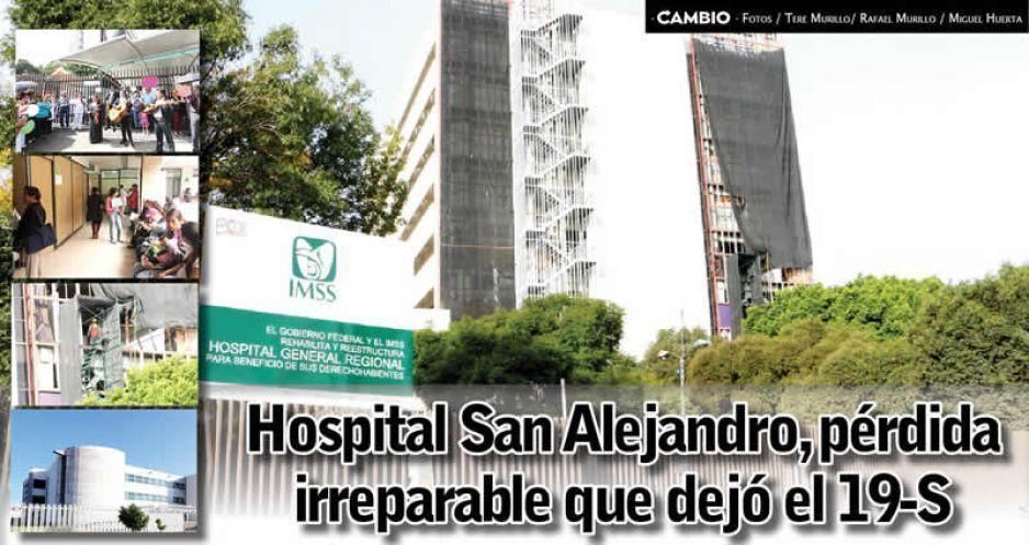 Hospital San Alejandro, pérdida irreparable que dejó el 19-S