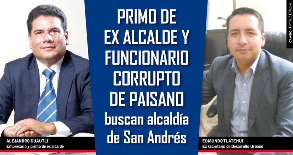 Primo de ex alcalde y funcionario corrupto de Paisano buscan alcaldía de San Andrés