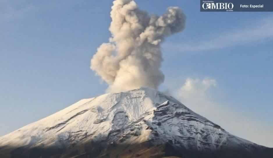 No hay relación entre la actividad de los volcanes de Guatemala y Hawaii con el Popocatépetl