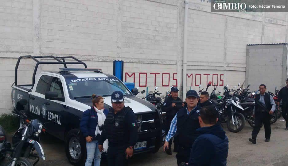 10 polis huachicoleros entre los detenidos de San Martín