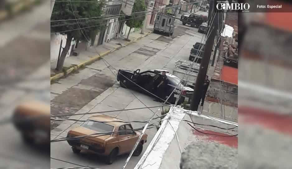 Policía Federal implementó un operativo contra el robo de combustible en Texmelucan