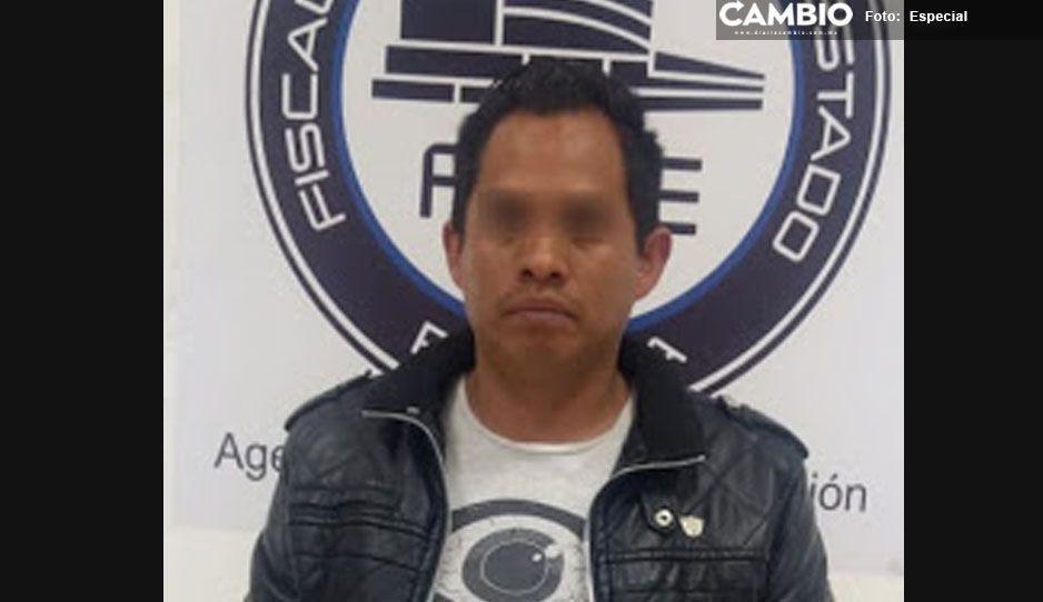 A un año de denunciarlo, la Fiscalía de Atlixco aprehendió a sujeto acusado de violencia familiar