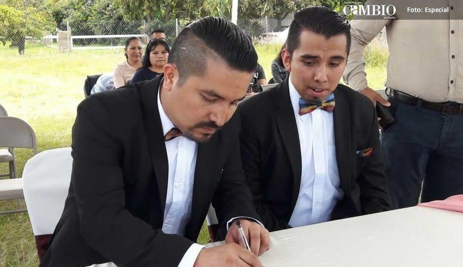 Se celebra el primer matrimonio gay en Atlixco