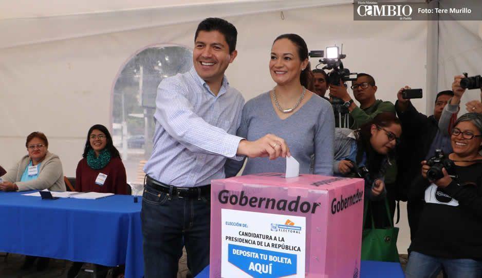 Eduardo Rivera niega negociación con Moreno Valle