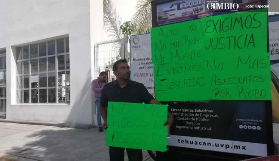 Exigen vecinos más seguridad tras femicicio #67 en Tehuacán