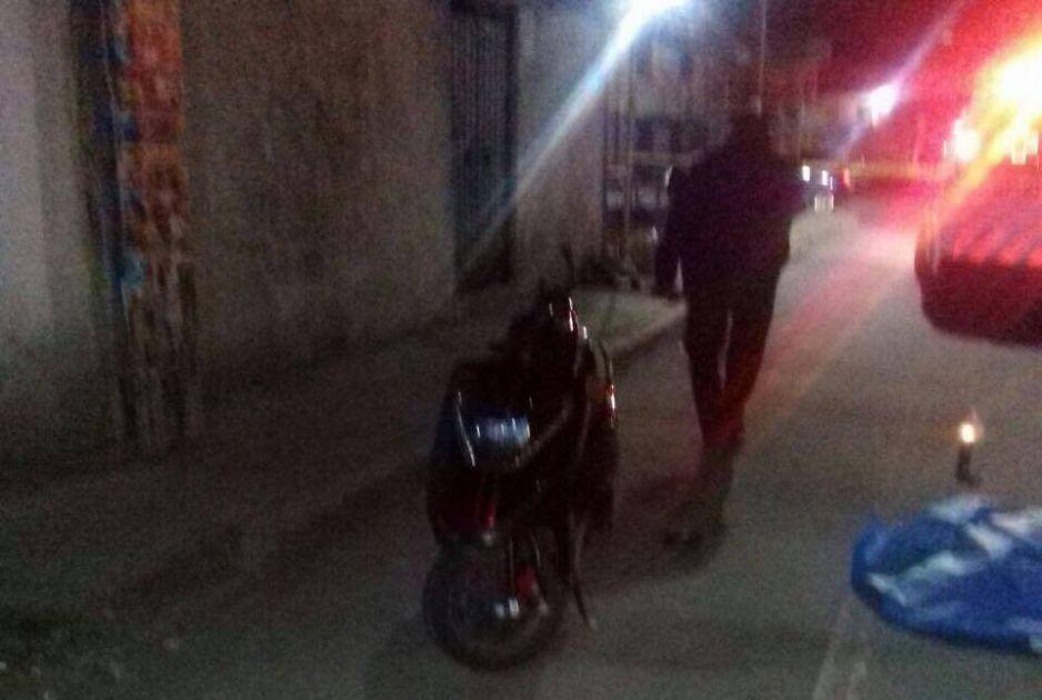 Muere tras derrapar de su moto en Texmelucan
