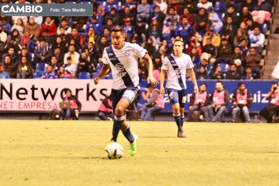 Canterano del Puebla revela que le temblaron los pies al debutar ante Cruz Azul