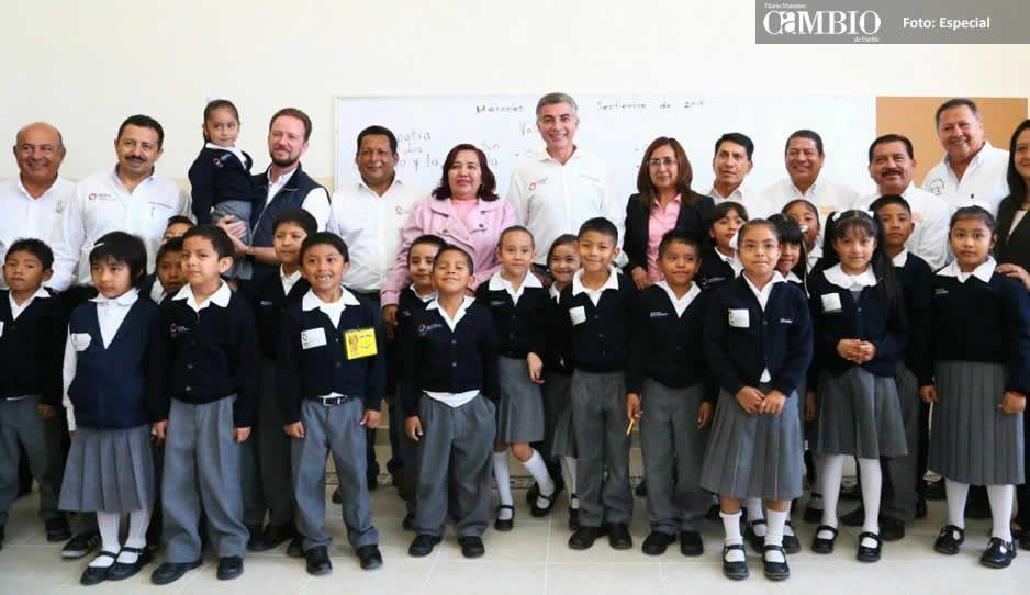 Avanza restauración en Puebla: Tony Gali