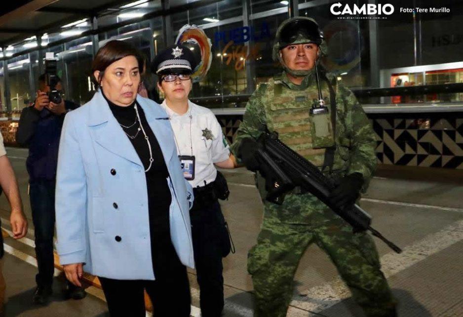 María de Lourdes Rosales Martínez organiza primer operativo alcoholímetro en conjunto con la Guardia Nacional