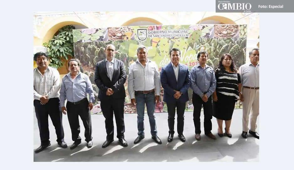 Anuncia San Andrés Cholula la edición 24 de la Feria del Nopal