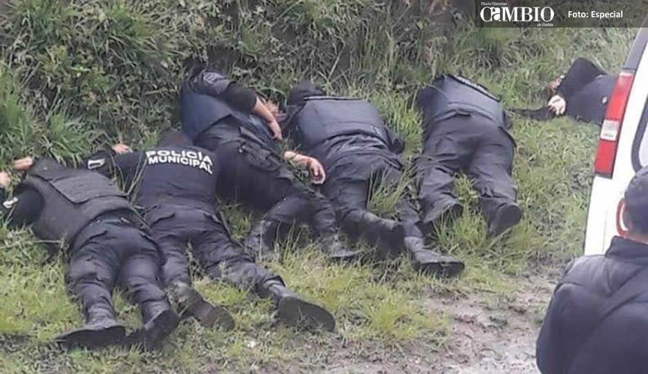La ejecución de los policías fue venganza de un comandante cesado en Amozoc