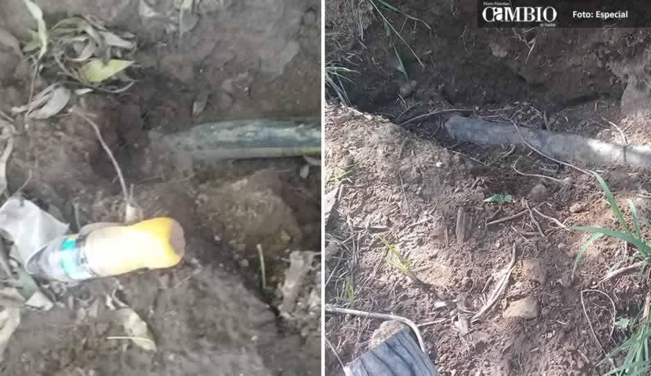 Pobladores de Chautla amagan con linchar a huachicoleros si las autoridades no hacen algo