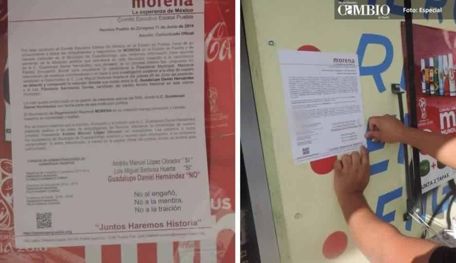 Morena desconoce a candidata a la presidencia de Cuautlancingo