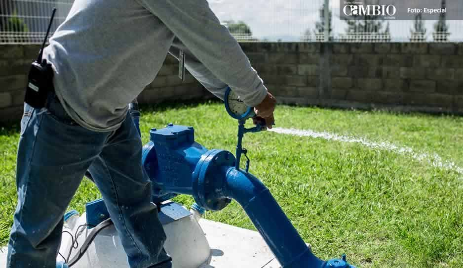 Se realizará mantenimiento de pozos de agua en Atlixco