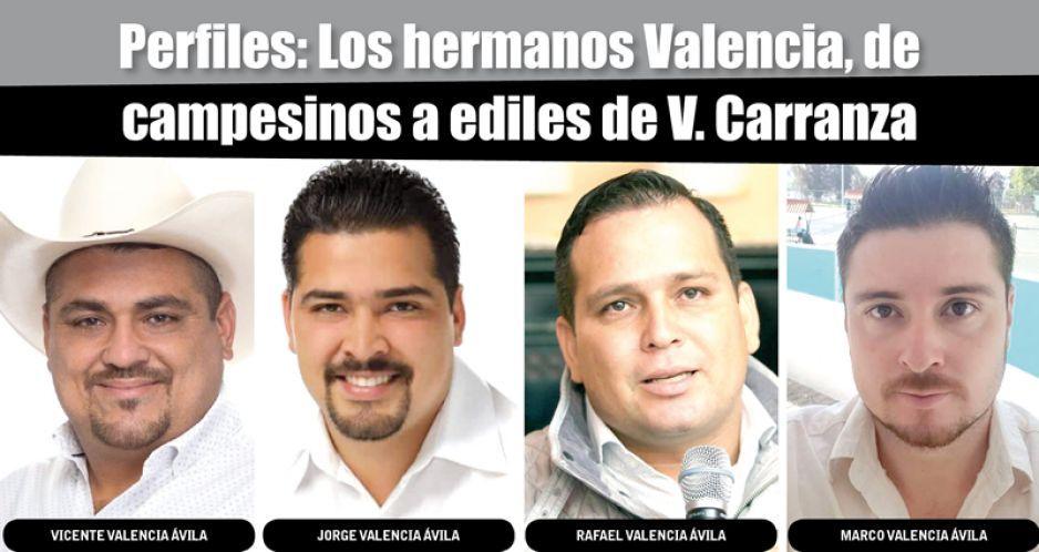 Perfiles: Los hermanos Valencia, de campesinos a ediles de V. Carranza
