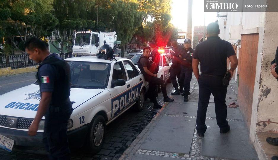 Layón no apoya ni recontrata  a ex policías de Texmelucan