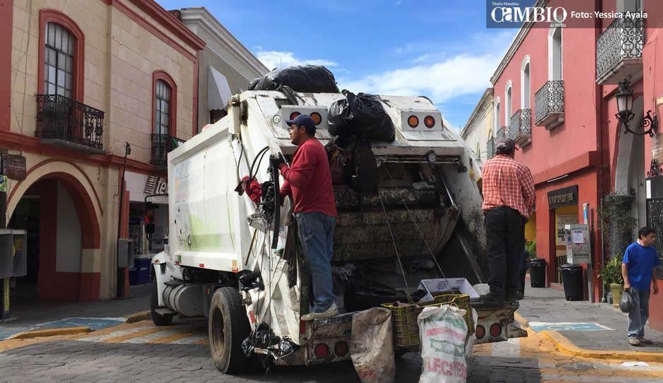Atlixquenses tendrán que pagar por el servicio de recolección de basura