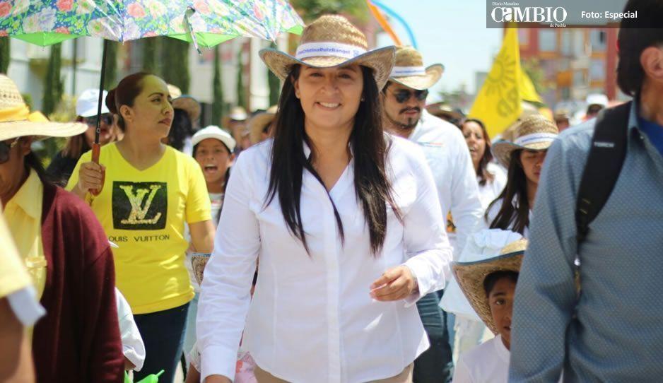 El PRI se disfrazó de Morena pero Cholula va con el Frente: Ana Cristina Ruiz