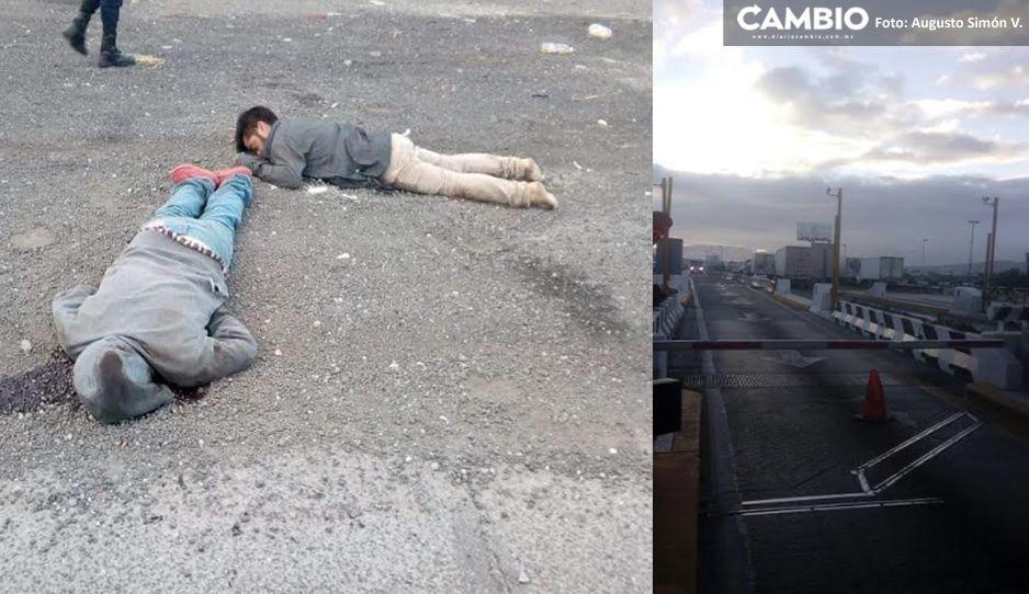 Caos en la Puebla -Orizaba tras la ejecución de 7 hombres