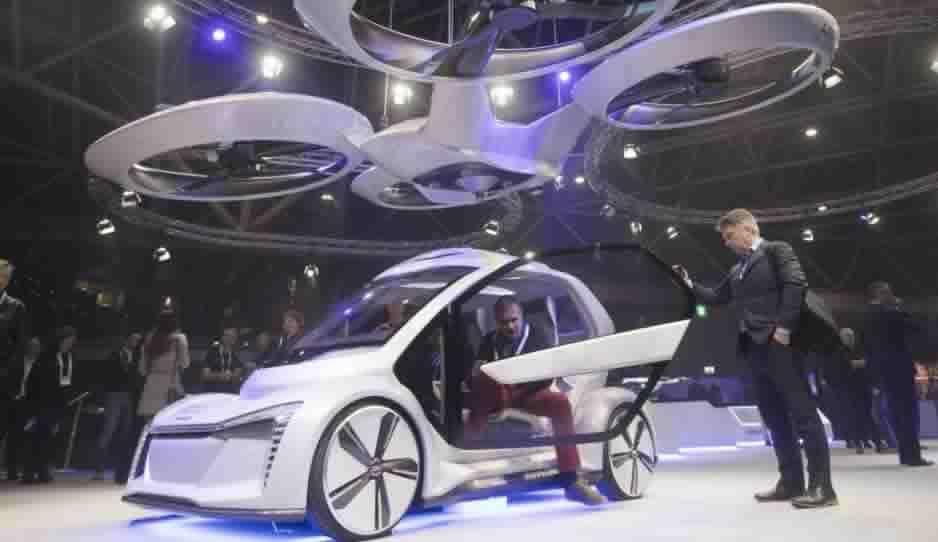 ¡Cada vez más cerca del futuro! En 2025 ya habrá taxis drones; El prototipo fue presentado por Audi
