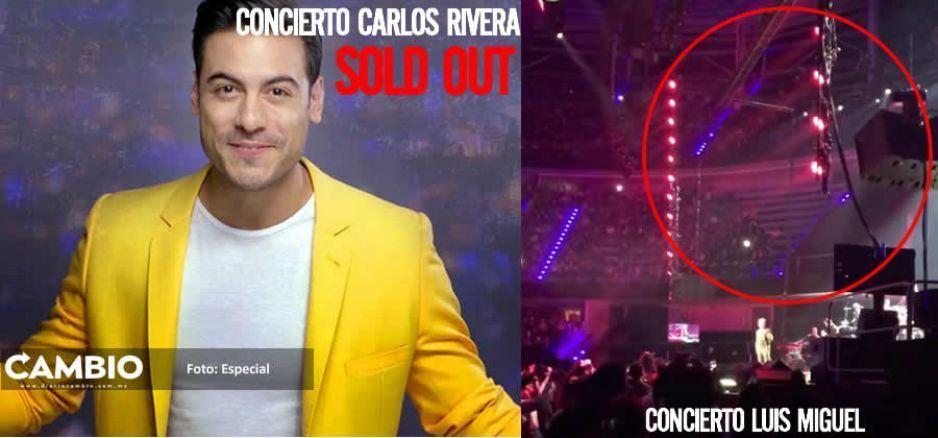 ¡Carlos Rivera logra el Sold Out para mañana en el Metropolitano y ya llena más que LuisMi!