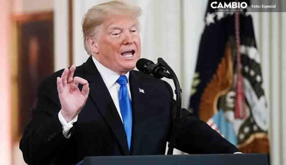 Afirma Trump que México está pagando por el muro