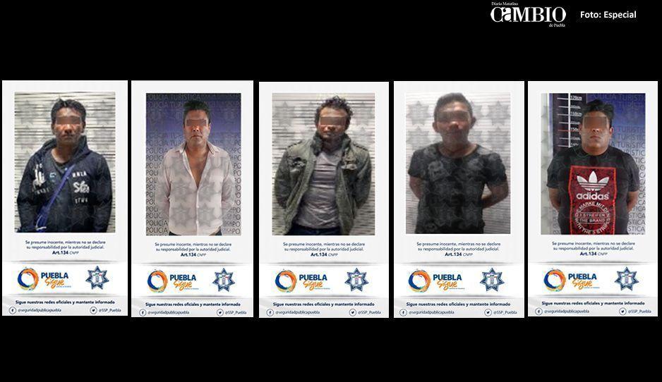 5 detenidos en acciones preventivas a cargo de la SSP