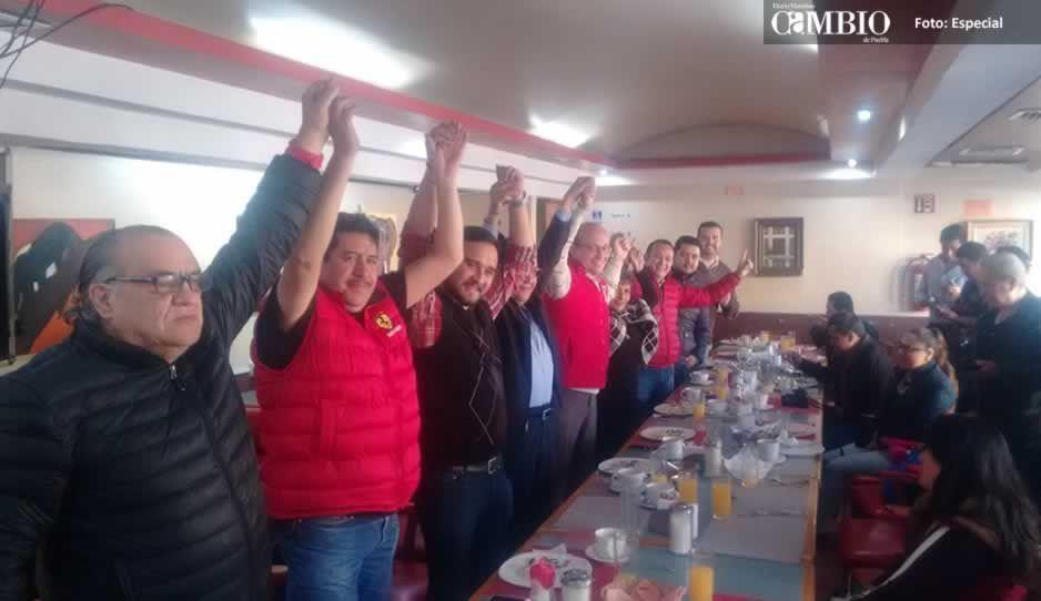 Priistas de Texmelucan se unen a las aspiraciones del abogado José de Jesús Aguilar