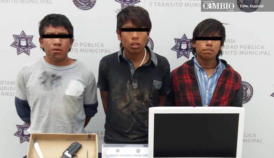 SSPTM detiene a 3 probables violadores de una menor de edad