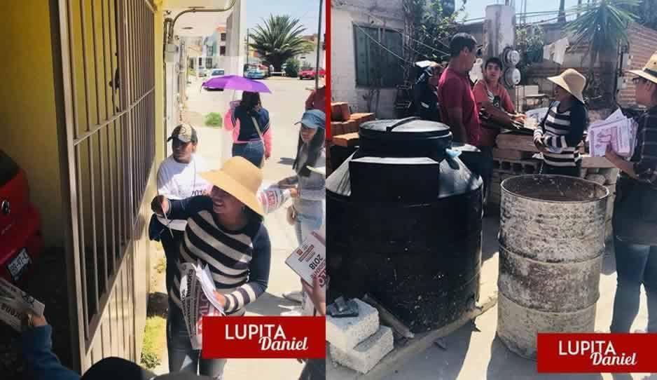 Candidata de Morena en Cuautlancingo se adelanta a las campañas