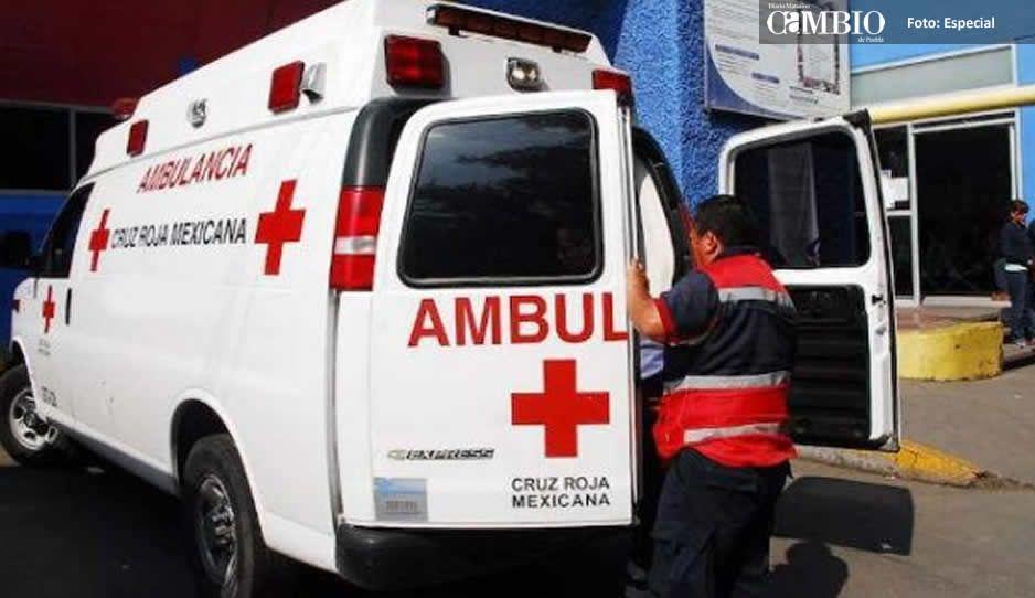 Suspenden a paramédicos de Cruz Roja delegación Texmelucan sobre supuesta negligencia