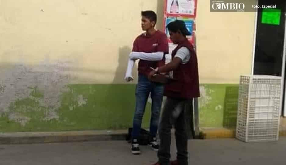 Dirigente regional de Morena desconoce brigadas que condicionan apoyos en Texmelucan