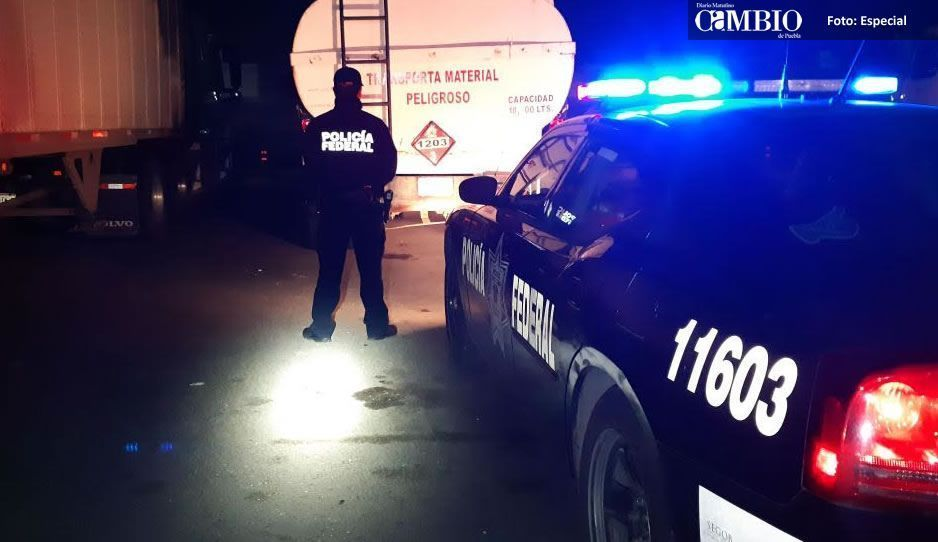Recuperan pipa robada en Cuautlancingo
