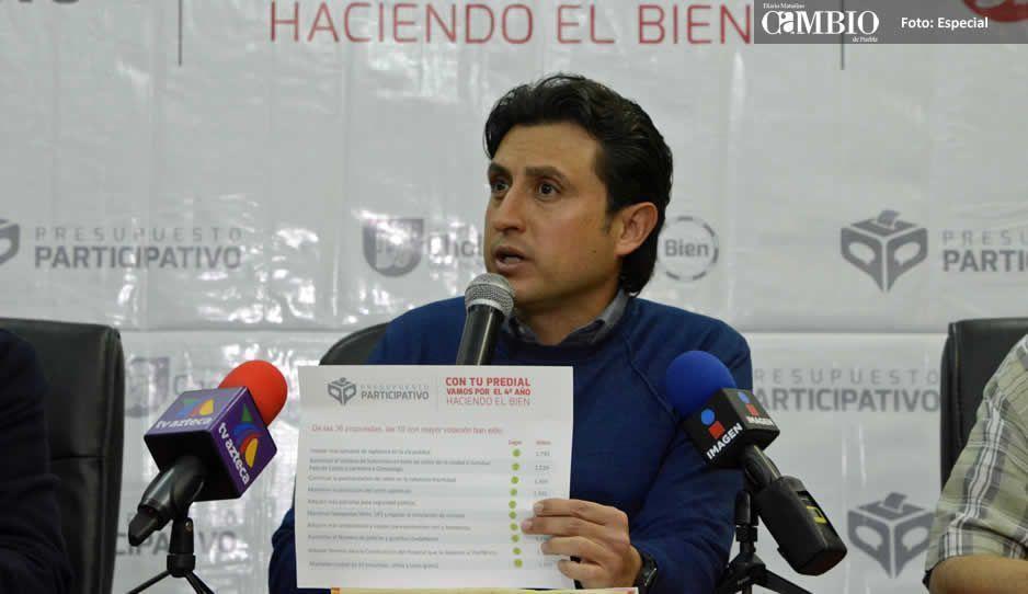 Eligen ciudadanos de San Pedro Cholula las obras para este año