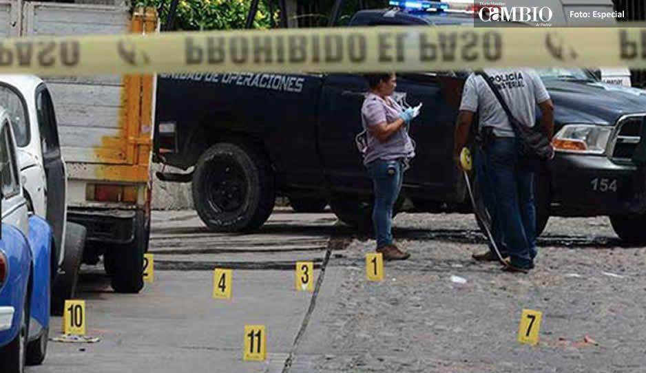 Emboscan y matan a tres policías en Huehuetlan El Grande