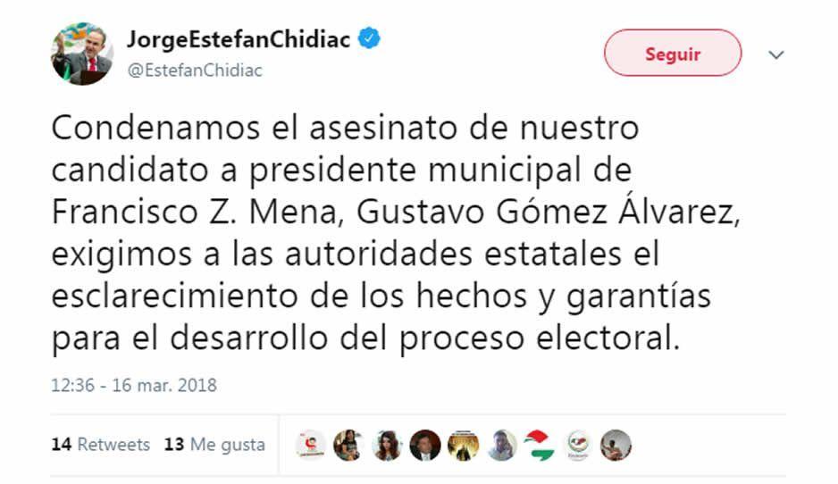 Asesinan a precandidato del PRI a alcalde en Puebla