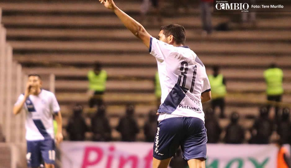 Cristian Palacios se desinfla con La Franja