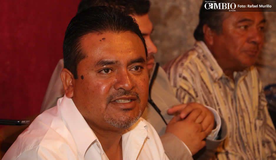 Eleazar Pérez insiste ser el candidato de Morena y estar cobijado por Biestro y Barbosa