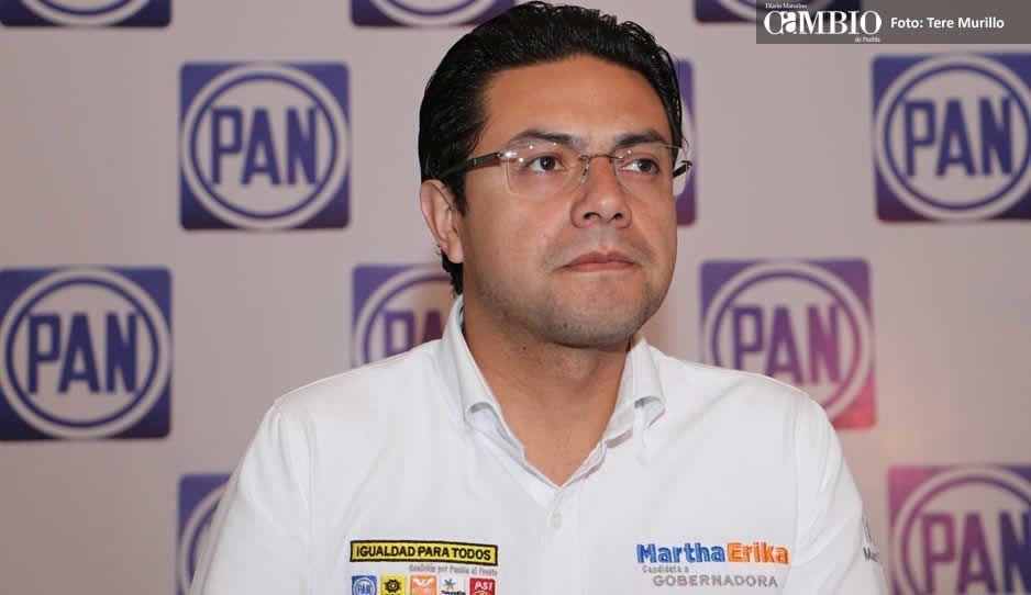 Giles niega que esté bloqueando la campaña de Ricardo Anaya en Puebla