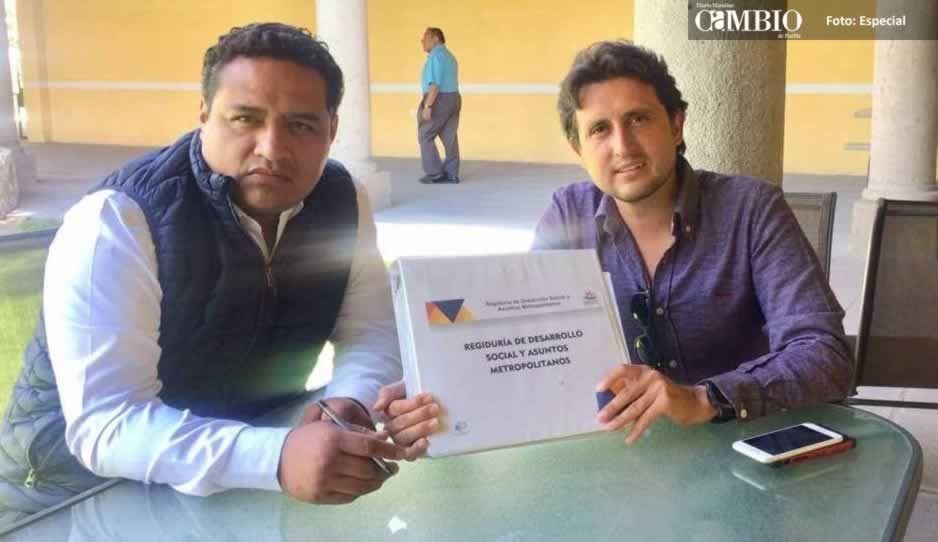 Regidor de Cuautlancingo solicita a José Juan la reapertura de las cuentas públicas de Félix Casiano