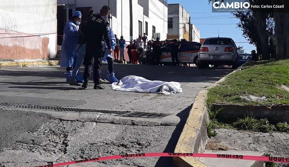 Ejecutan a hombre en San Jerónimo Caleras, lo conocían como El Iñaki (VIDEO)