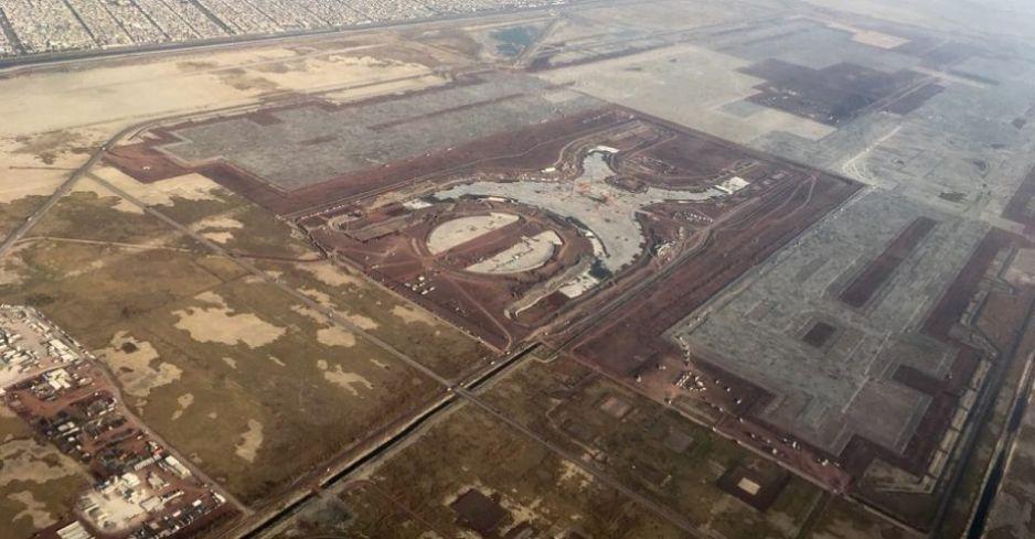 SCT asegura que las obras en el NAIM están suspendidas desde diciembre
